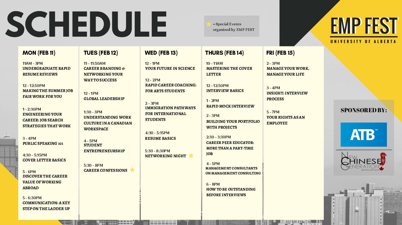 schedule (last updated jan 19)